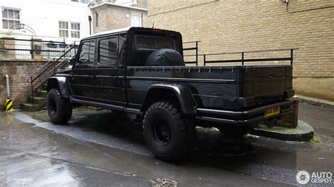 mercedes g500 pickup mercedes benz gwf g500 pickup 21 september 2016 autogespot