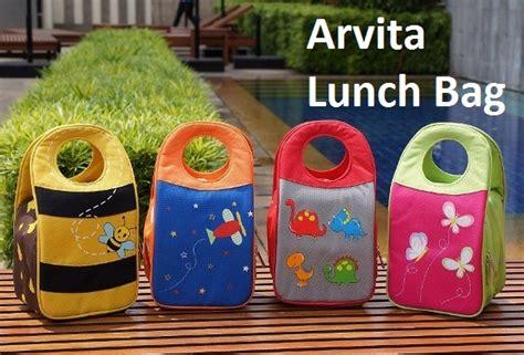 Tempat Bekal Snack Box Lunch Box arvita lunch bag tas bekal anak asibayi