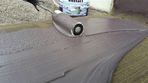 guaina liquida per terrazzi uniibit guaina liquida bituminosa impermeabilizzante