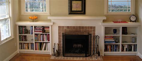 building bookshelves around fireplace guide to building a shelf or bookcase around a fireplace