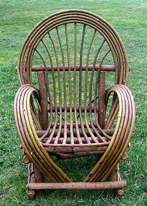 bent willow chair cottage