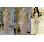 Gaun Muslim  Gambar Baju Pesta Model Gamis Modern