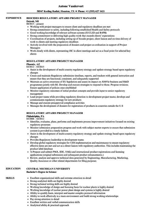 pharmaceutical regulatory resume pharmaceutical regulatory affairs resume sle sanitizeuv sle resume and templates