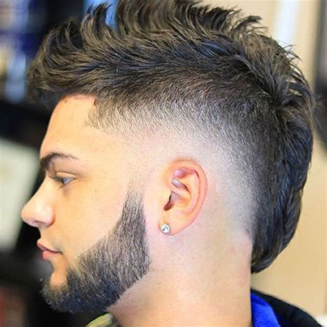 the mohawk fade haircut s haircuts hairstyles 2017 - Back Side Of Mohawk Black Hairstyles 2017
