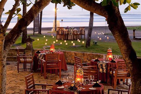 capris restaurant  royal beach seminyak bali bali