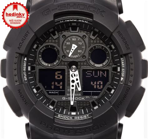 Casio G Shock Ga 100 casio g shock g classic ga 100 1a1er hodinky 365 sk