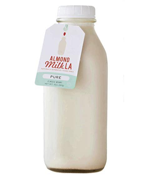 packaging design for milk almond milk la ambalaj