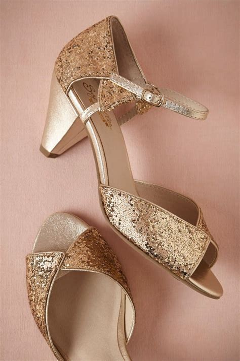 Gold Flat Bridal Shoes by 20 Gold Wedding Shoes To Wear On Your Big Day Brit Co