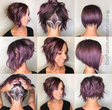 Ponytails For A Line Cuts | 25 best ideas about undercut ponytail on pinterest