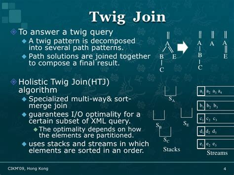 twig pattern xml bitmap indexes for relational xml twig query processing
