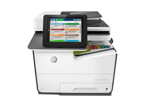 Hp Pagewide Color Mfp 586f G1w40a hp pagewide enterprise color mfp 586f hp 174 official store