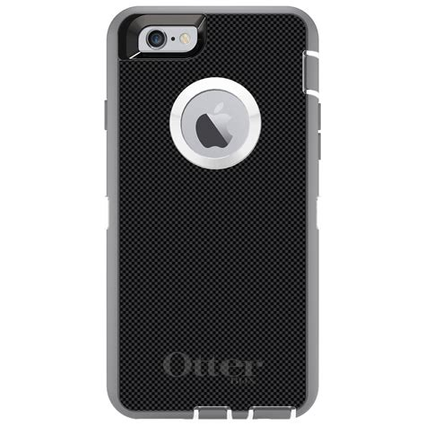 Iphone 5s Black Carbon custom otterbox defender for iphone 6 6s 7 plus black grey