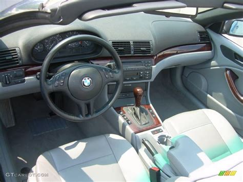 2004 Bmw 325i Interior by Grey Interior 2004 Bmw 3 Series 325i Convertible Photo