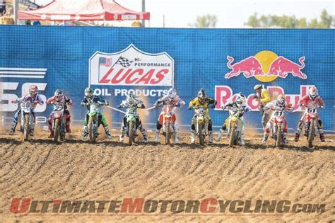 ama motocross 2014 schedule 2014 ama motocross schedule ultimate motorcycling magazine