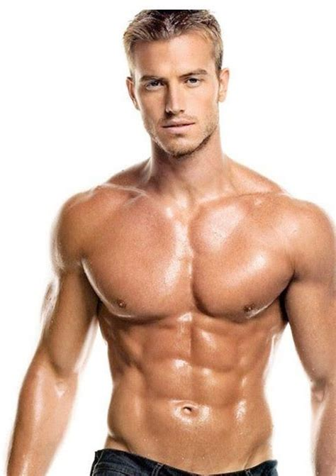 this is nick auger fitness model and aspiring actor he