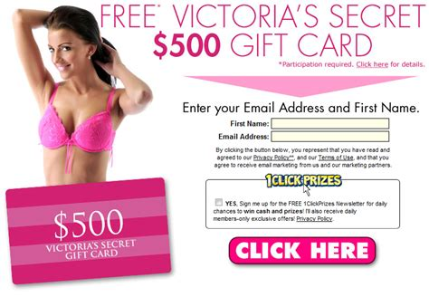 Email Victoria Secret Gift Card - new offer 500 00 victoria s secret gift card email submit cpa prosperity s blog