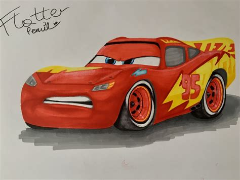 new paint lightning mcqueen with new paint from cars 3 by