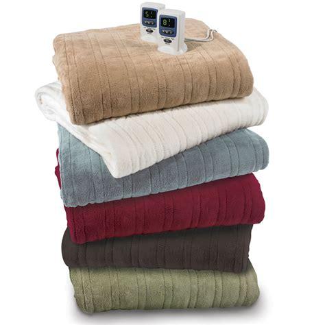 the best electric blanket king hammacher schlemmer