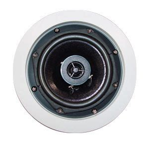 outdoor in ceiling speakers owi ic6 70v10 in ceiling speakers 70v 70 volt system 2 way co axial 62 1 25 2 5 5 10w power