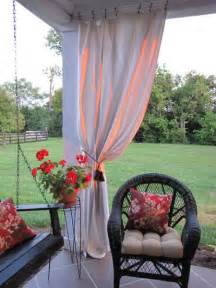 cloth curtains outdoor