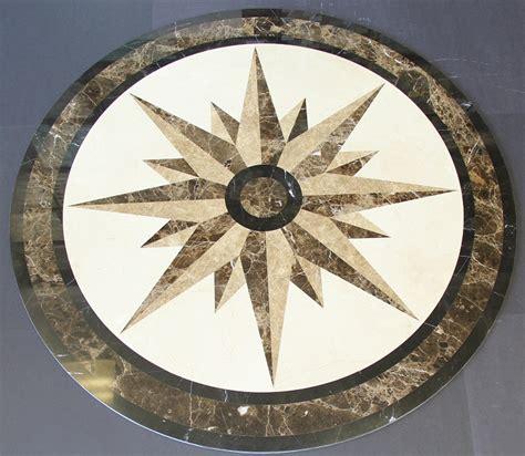 north star marble medallion round custom marble medallions