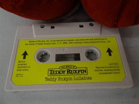 teddy ruxpin cassette teddy ruxpin cassette player w 1 wichita