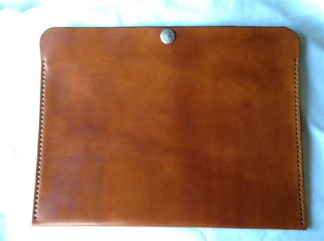 Handmade Portfolio - leather portfolio handmade in the usa heirloomleather on