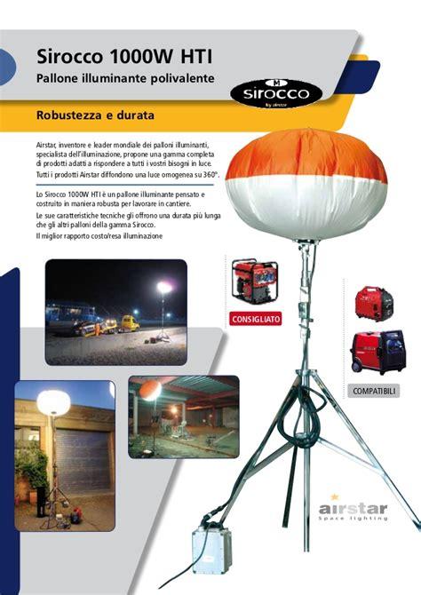 palloni illuminanti settori catalogo sirocco industrial low ita pdf