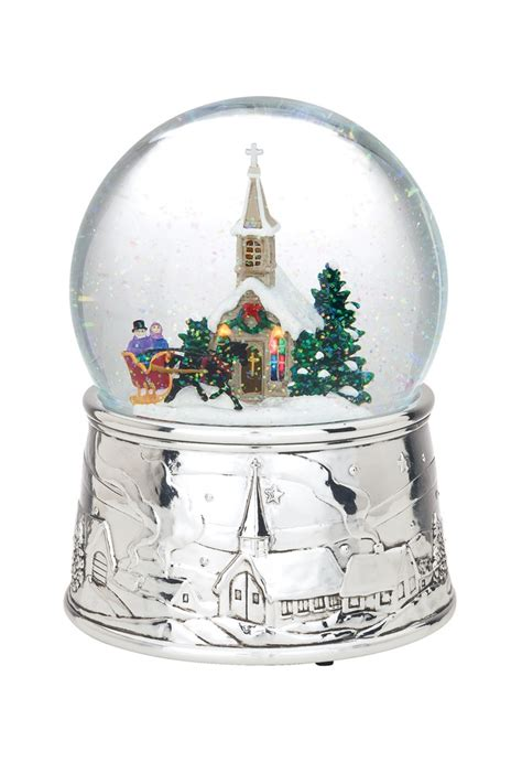 48 best images about christmas musical snow globes on