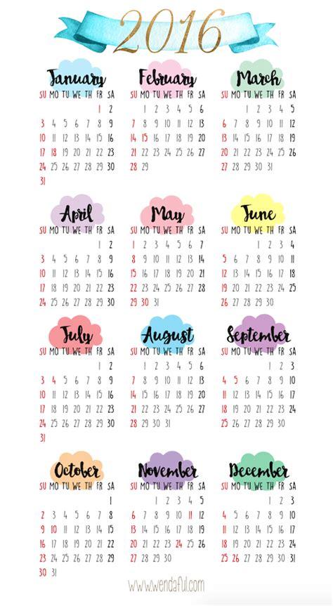 printable calendar a5 free printable a5 2016 calendar calendar template 2018