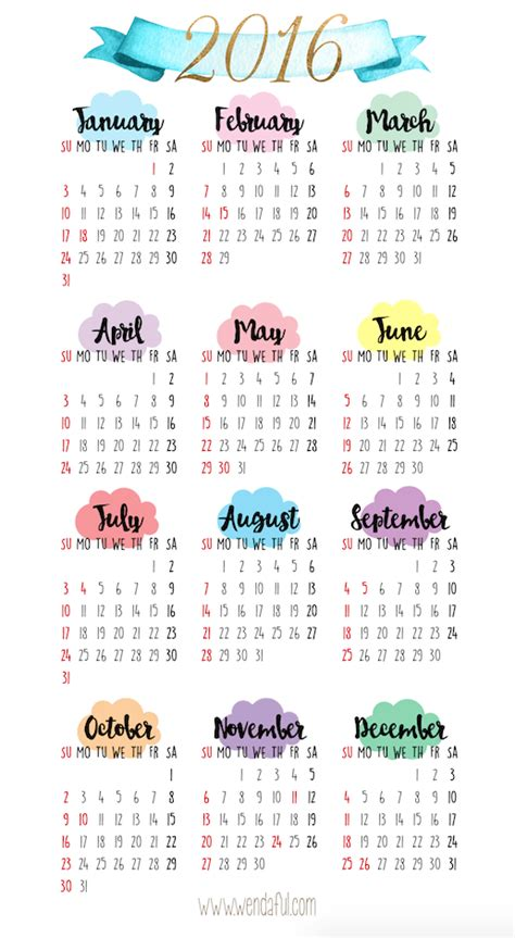 printable a5 year planner 2015 free printable a5 2016 calendar calendar template 2018