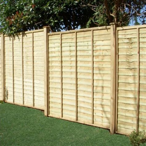 4ft Trellis Panels Overlap Fence Panel 4ft X 6ft