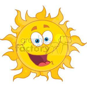 royalty free happy sun with big smile 382019 vector clip