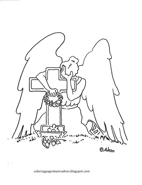 weeping angels coloring pages coloring pages for kids by mr adron weeping angel