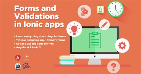ionic tutorial master ionic framework working with forms and validations