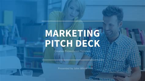 Marketing Pitch Deck Google Slides Template By Slidefusion Graphicriver Marketing Pitch Deck Template