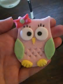 owl cake decorations sweet owl cupcake topper or cake decoration cupcakes