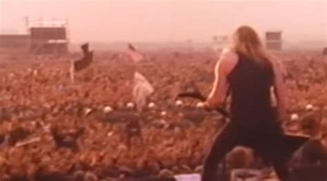 metallica russia 25 years ago metallica played in russia to a crowd of over
