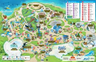 map of sea world florida map archives seaworld parks rock