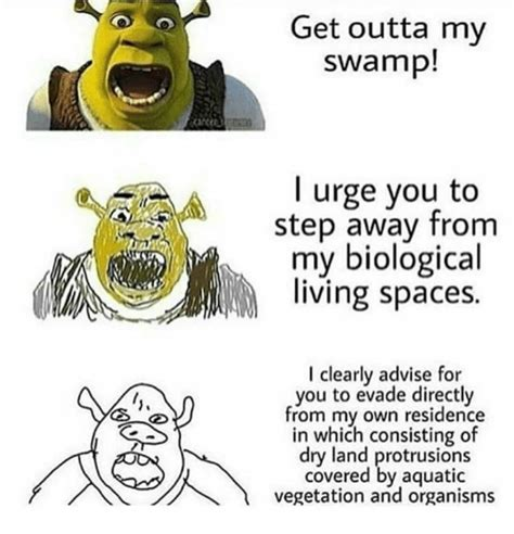 outta  swamp  urge   step    biological living spaces   advise