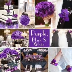 purple and white wedding purple wedding color combination options wedding colors white weddings and black and white