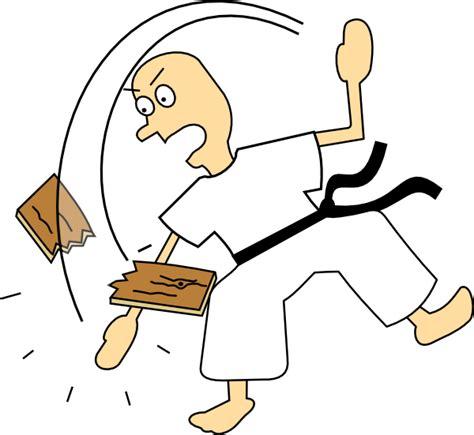 karate clipart free karate chop clip