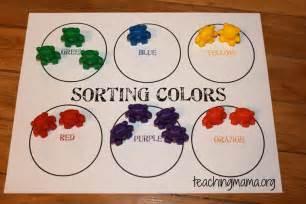color activities for preschool on math activities for preschoolers