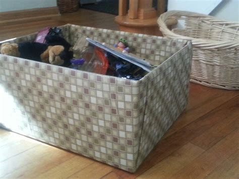 diy toy box with drawers diy fabric covered toy box from a cardboard box