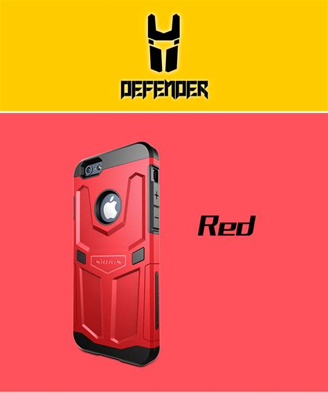 Original Nillkin Iphone 6 Plus 55 Defender 2 Series nillkin apple iphone 6 5 5 plus defender series casingcoverhape