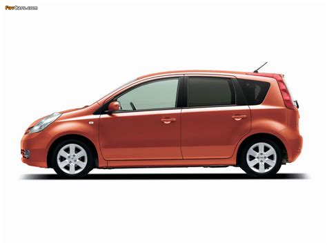 nissan note 2004 wallpapers of nissan note jp spec e11 2004 08 1024x768