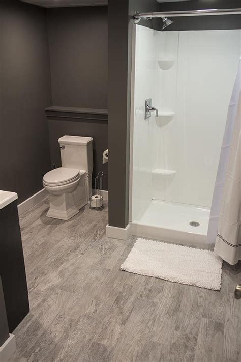 finished bathroom ideas 17 best images about finishing basement on