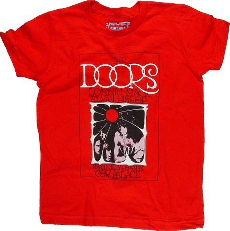 Doors T Shirt by The Doors Kid S T Shirt From Cow Palace Jul 25 1969