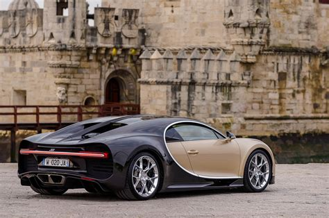 gold and black bugatti 2018 bugatti chiron first drive review automobile magazine