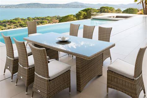table alu jardin beautiful table de jardin alu resine gallery amazing house design ucocr us
